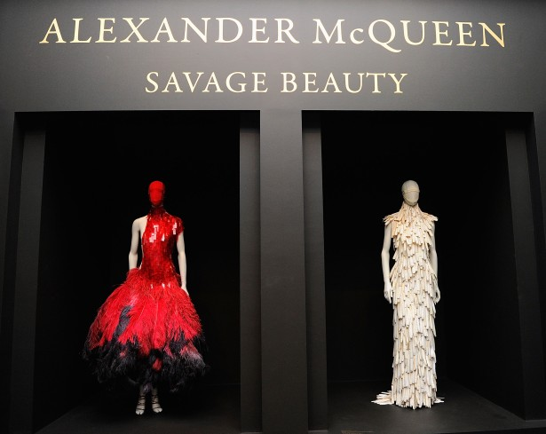 """""""Alexander McQueen: Savage Beauty"""" Costume Institute Exhibition At The Metropolitan Museum Of Art - Preview"""
